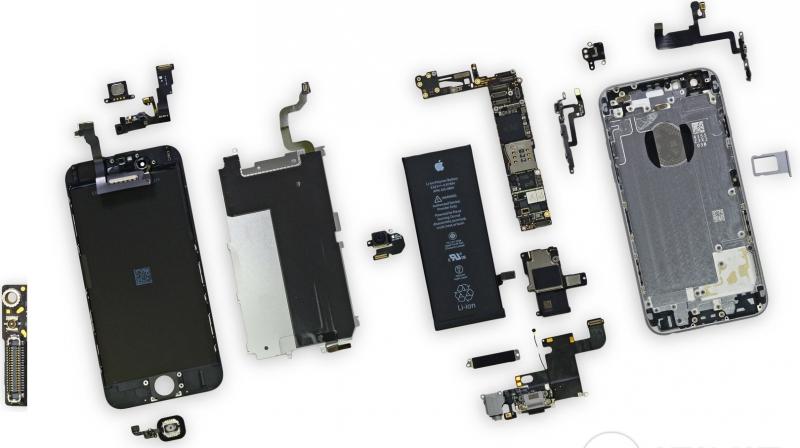 Комплектующие и запчасти Apple iPhone, iPad