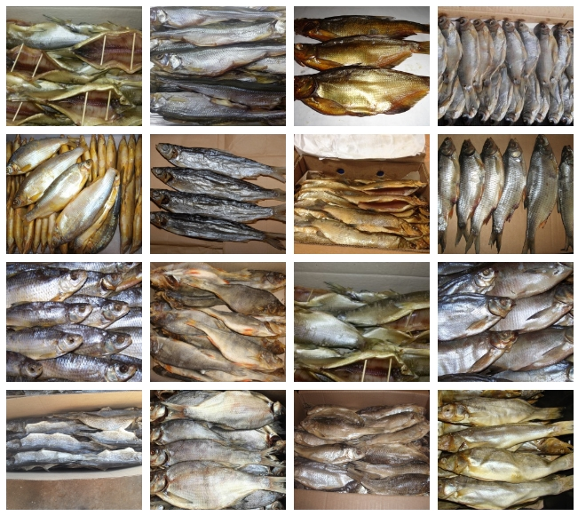 Рыба речная вяленая и холодного копчения оптом