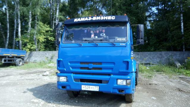 Cедельный тягач КАМАЗ 65116-RB.