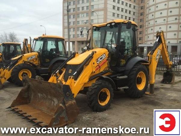 Услуги аренды экскаватора-погрузчика JCB 3CX  гидромолот в г. Раменское.