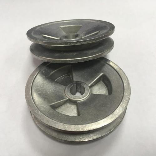 Шкивы алюминиевые 1 и 3 ручейковые для мотоблоков от 100 шт