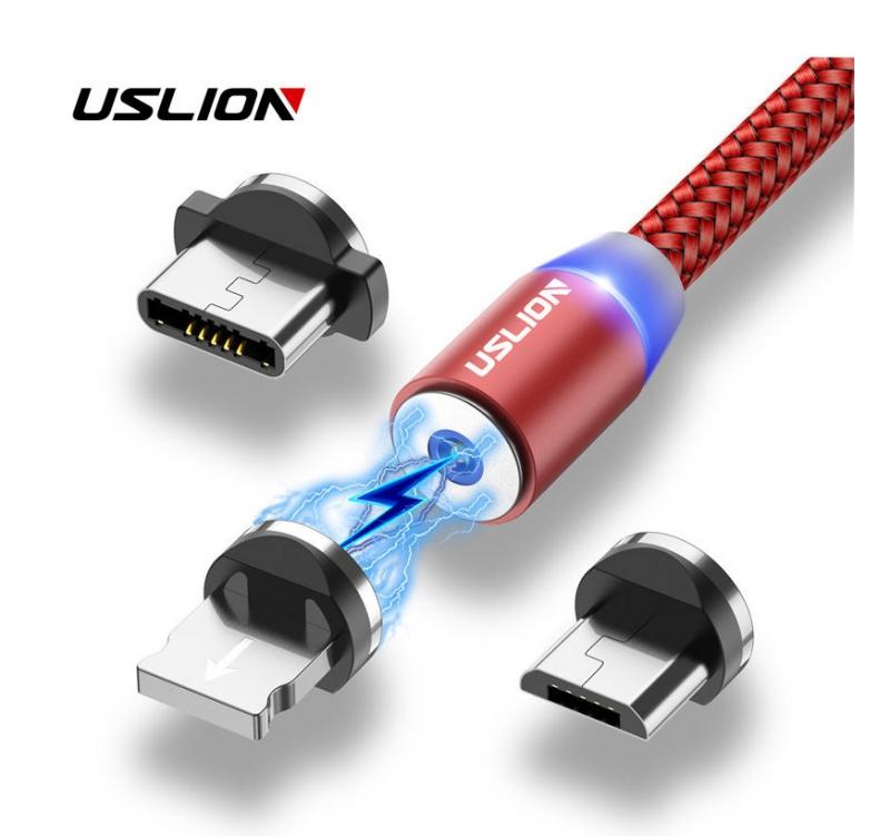 Магнитный usb-кабель USLION